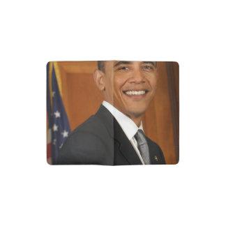 Barack Obama Official Portrait Pocket Moleskine Notebook