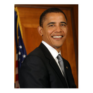 Barack Obama Official Portrait Postcard