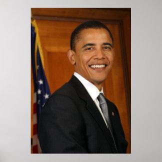Barack Obama Official Portrait Poster