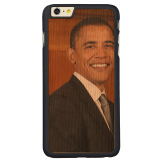 Barack Obama Official Portrait Carved® Cherry iPhone 6 Plus Case