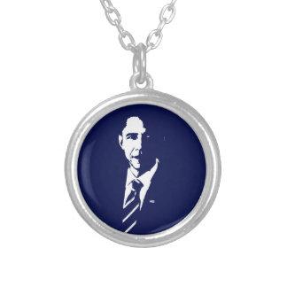 Barack Obama Outline Necklace
