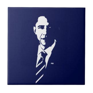 Barack Obama Outline Tile
