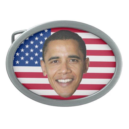 Barack Obama Oval Belt Buckle