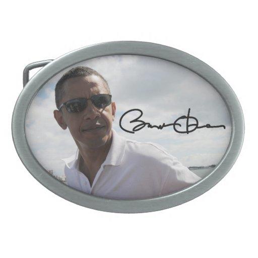 Barack Obama Oval Belt Buckles