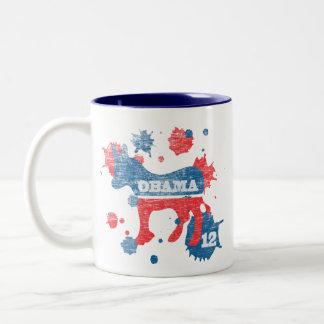 Barack Obama Paint 2012 Coffee Mug