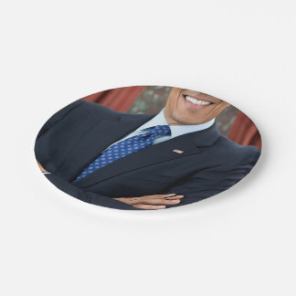 Barack Obama Paper Plate