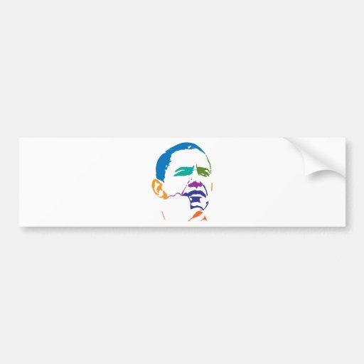Barack Obama para el presidente 2012 Etiqueta De Parachoque