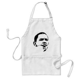 Barack Obama para el presidente 2012 Delantal