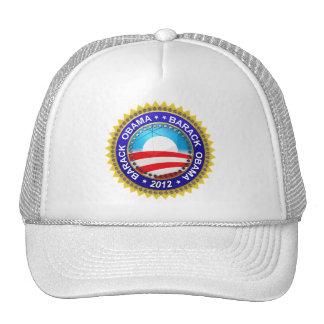 Barack Obama para el presidente 2012 Gorro De Camionero