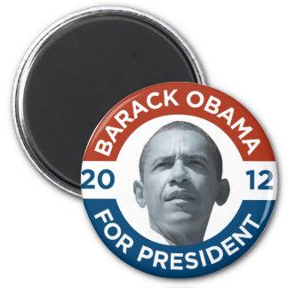 Barack Obama para el presidente 2012 Imán Redondo 5 Cm