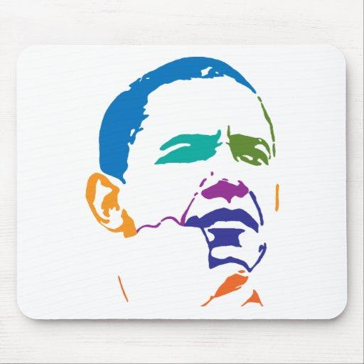 Barack Obama para el presidente 2012 Alfombrilla De Ratones