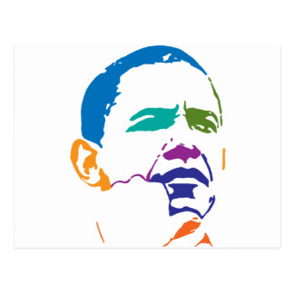 Barack Obama para el presidente 2012 Postal