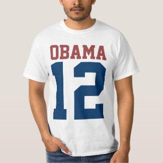 Barack Obama para el presidente en 2012 Playera
