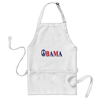 Barack Obama Peace Sign Adult Apron
