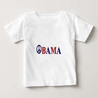 Barack Obama Peace Sign Baby T-Shirt