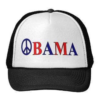 Barack Obama Peace Sign Trucker Hat
