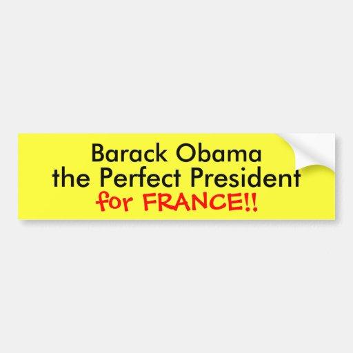 Barack Obama Pegatina Para Auto