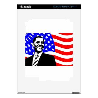 Barack Obama Pegatina Skin Para iPad 3