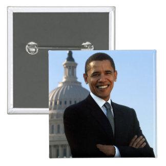 Barack Obama - Pin del cuadrado