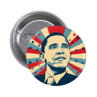 Barack Obama Pin Redondo De 2 Pulgadas