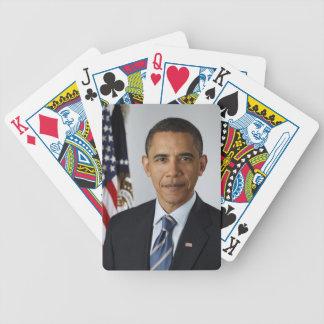 Barack Obama Bicycle Poker Cards