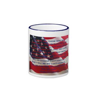 Barack Obama - podemos sí el discurso #2 Tazas De Café