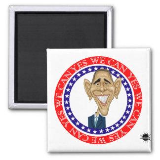 Barack Obama podemos sí Imán Para Frigorífico