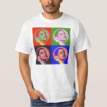 Barack Obama Pop Art T Shirt