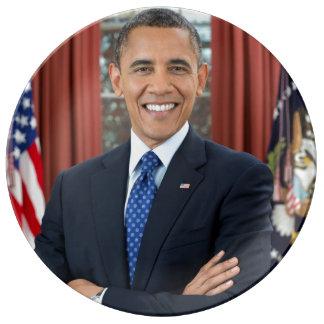Barack Obama Porcelain Plate