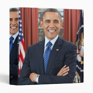 Barack Obama portrait Binder