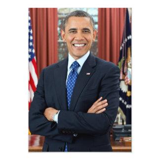 Barack Obama portrait Card
