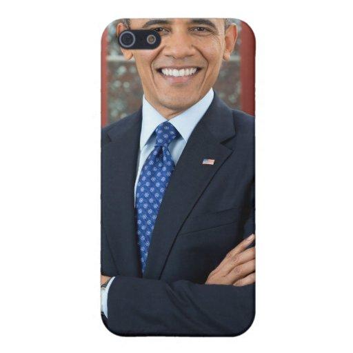 Barack Obama portrait Cover For iPhone 5