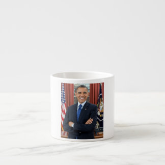 Barack Obama portrait Espresso Cup