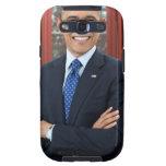 Barack Obama portrait Galaxy S3 Cover