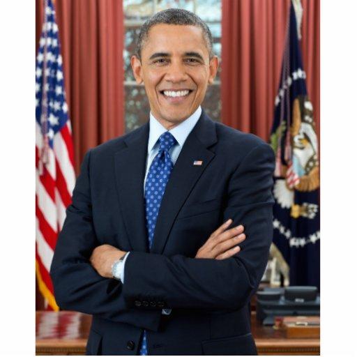 Barack Obama portrait Photo Cutouts