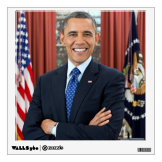 Barack Obama portrait Room Decals