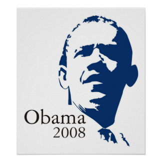 Barack Obama Poster Canvas