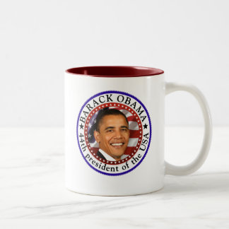 Barack Obama - President 44 Mug C