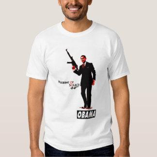 Barack Obama President of Solace Version 2 Tee Shirt