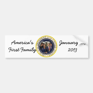 Barack Obama President of the United States Bumper Stickers