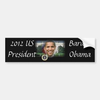 Barack Obama President of the United States Car Bumper Sticker
