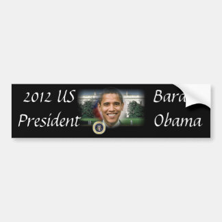Barack Obama President of the United States Bumper Sticker