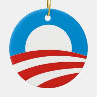 barack obama president usa logo elections 2012 ornaments