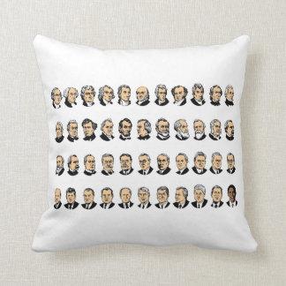 Barack Obama - Presidentes de los Estados Unidos Cojin