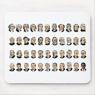 Barack Obama - Presidentes de los Estados Unidos Alfombrilla De Ratones