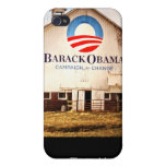 Barack Obama Presidential Campaign Barn iPhone 4 Cover