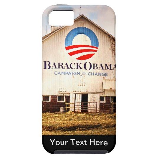 Barack Obama Presidential Campaign Barn iPhone SE/5/5s Case