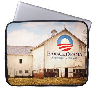 Barack Obama Presidential Campaign Barn Computer Sleeve