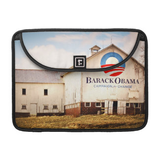 Barack Obama Presidential Campaign Barn MacBook Pro Sleeve