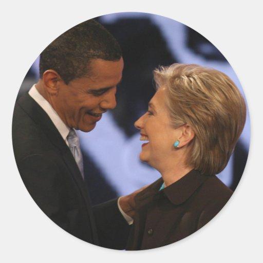 BARACK OBAMA Presidential Inauguration Gifts Classic Round Sticker